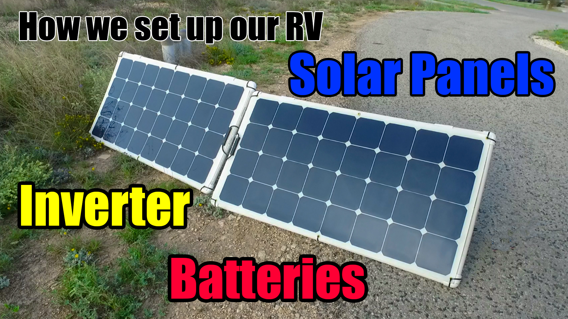 rv solar hook up